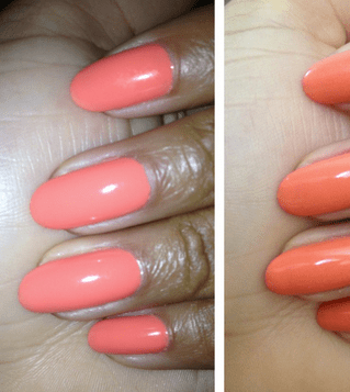 Monday Mani Muse- Orange Peach by GelTwo