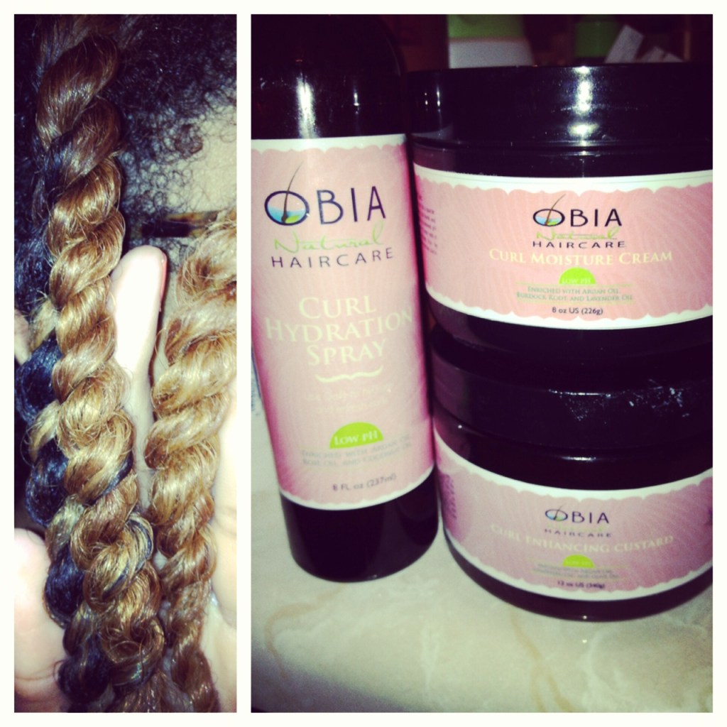 Obia Natural Hair Review – Twist Out