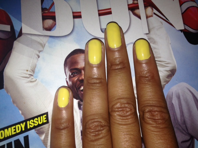 Monday Mani Muse- Spring Yellow
