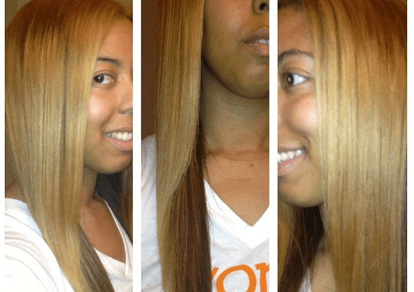 #Curly2Straight with Motions + The Bounce Back
