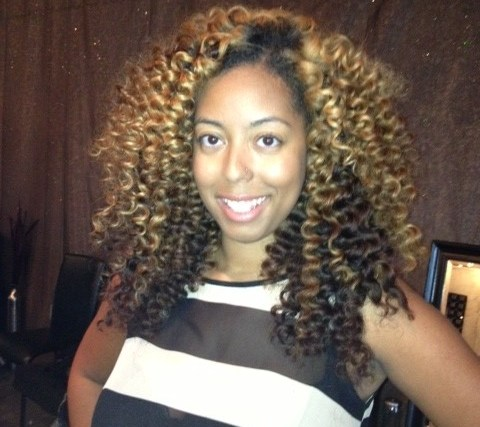 Curling Wand On Extensions With Shawnda Dee