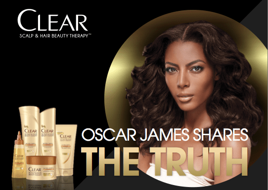 Fall Hair Tips From Oscar James & CLEAR Ultra Shea