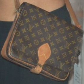 Consigned Louis Vuitton Cartouchiere GM! YoogisCloset.com