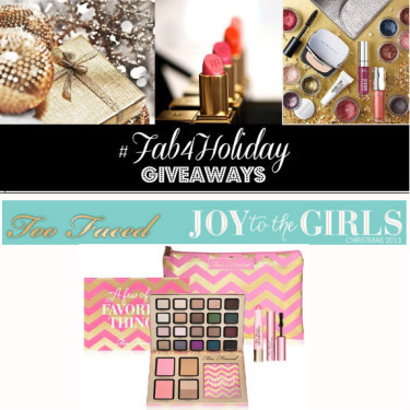 """Day 5 : Too Faced """"A Few Of My Favorite Things"""" Palettes"""