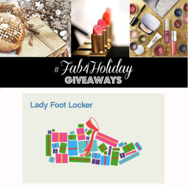 Day 20: $100 Lady Foot Locker Gift Card (4 winners)