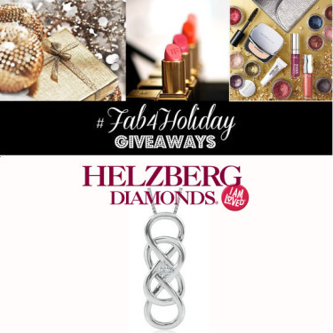 Day 7- Win A Helzberg Diamonds Infinity X Infinity Necklace