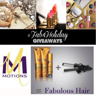 Day 12: Win a Motions Straight Finish Set + Flat Iron