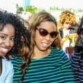 Jessica Andrews - Alexis Felder - Danielle Gray at  the Texture Manageability System presentation at Dream South Beach 1.24