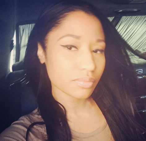 nicki minaj natural hair