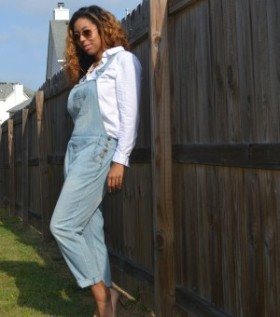 The 90's Are Back- My Take On Overalls From MACY's