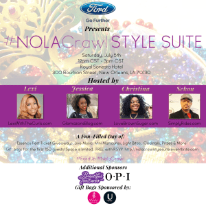 #NOLACrawl At Essence + #NOLACrawl Style Suite