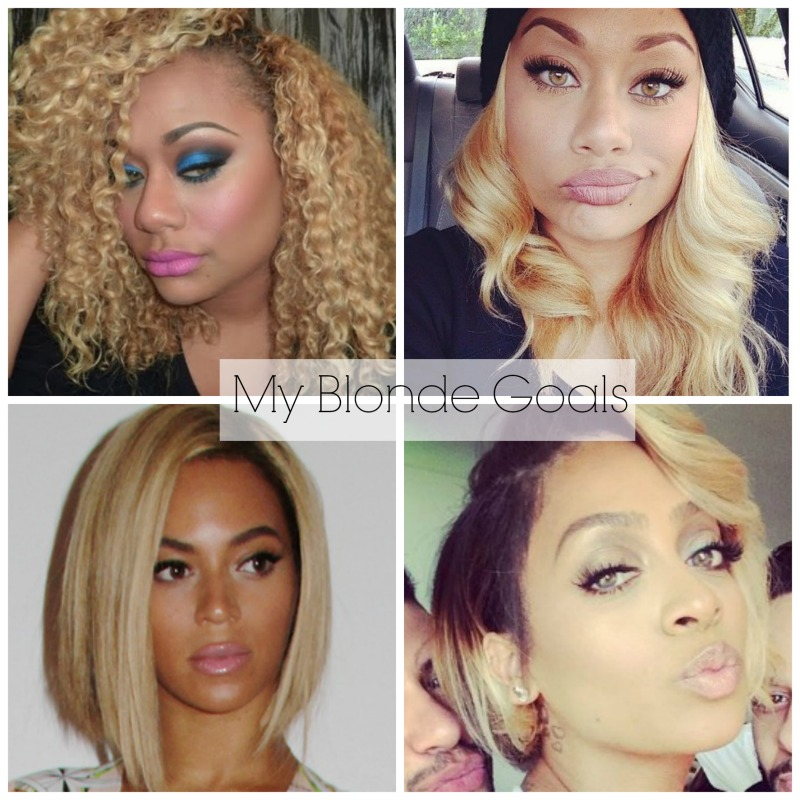 Im Going More Blonde What Color Do I Want Lexiwiththecurls