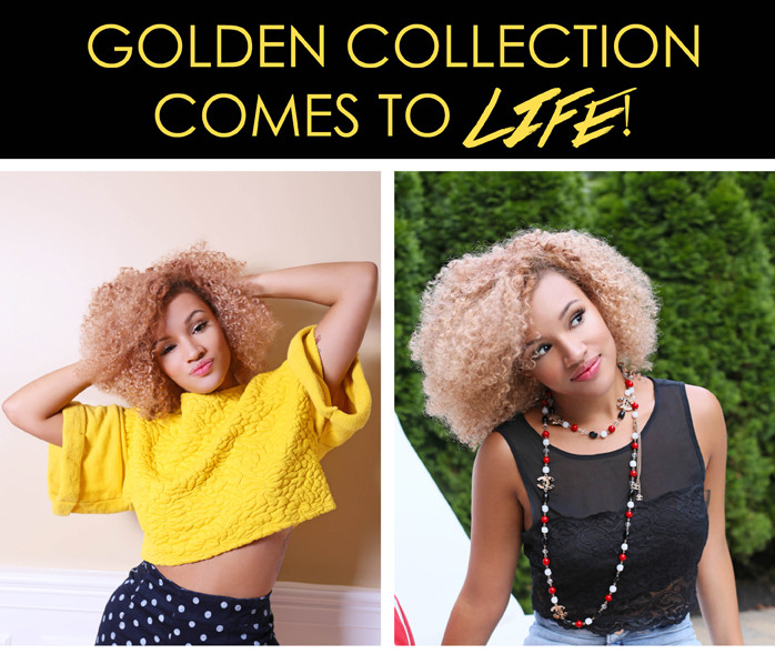 onyc kinky curly Golden Collection