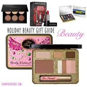 Holiday Beauty Gift Guide 2014 – Makeup