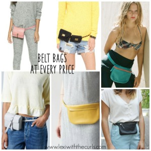 My Belt Bag Obsession! 12 Belt Bags At Every Price