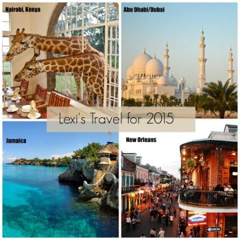 My Travel For 2015 + Creating Travel Goals