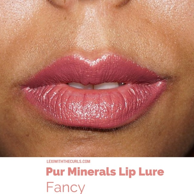 fancy lip lure pur minerals swatch ulta