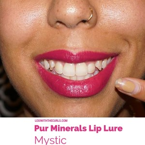 *NEW* Pur Minerals Lip Lure Swatches