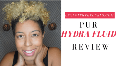 PUR HYDRA fluid Foundation Review + Cameo Contour