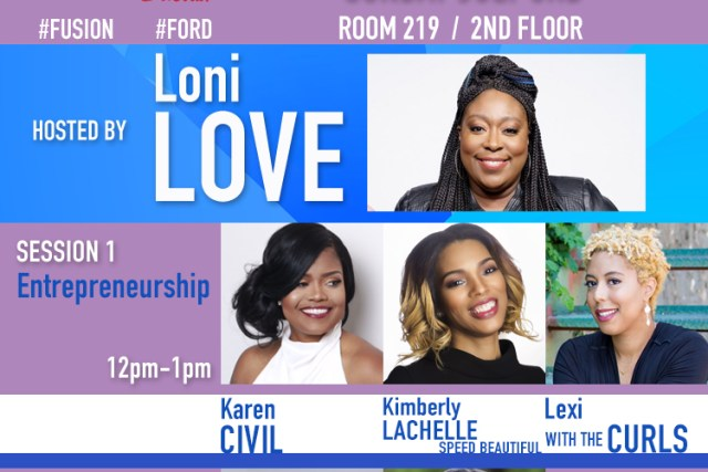 Headed to ESSENCE? Join Me For The 'Go Further' Convo With @Ford