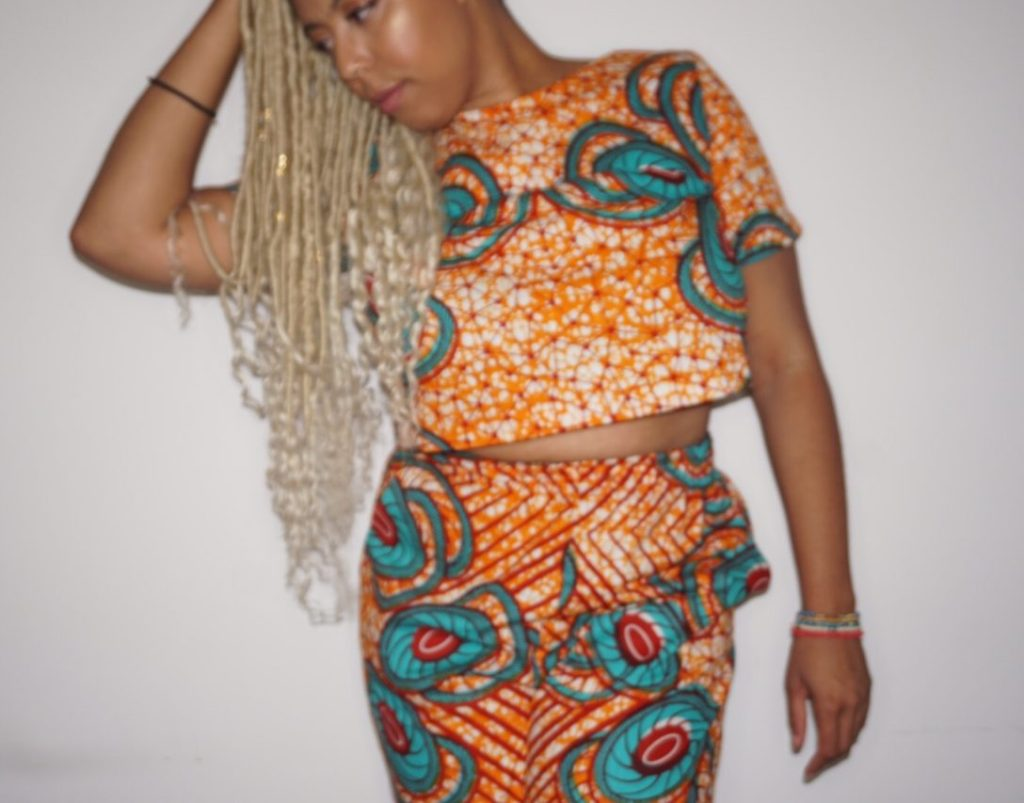 #OOTD Crop Top & Jogger- Suakoko Betty Custom African Print Outfit