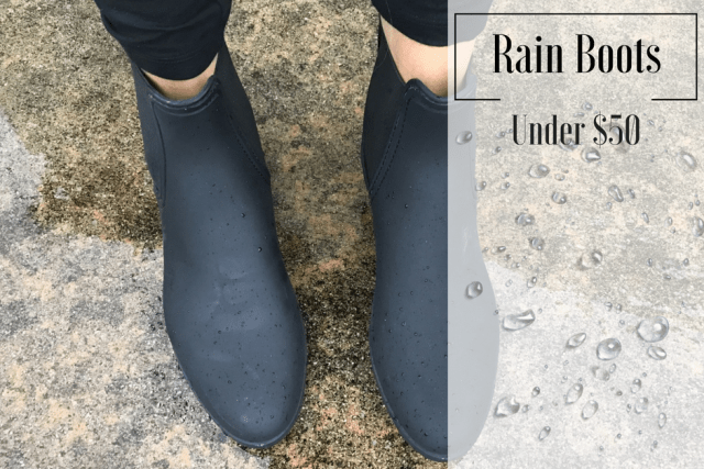 Rainy Season- Rainbooties under $50