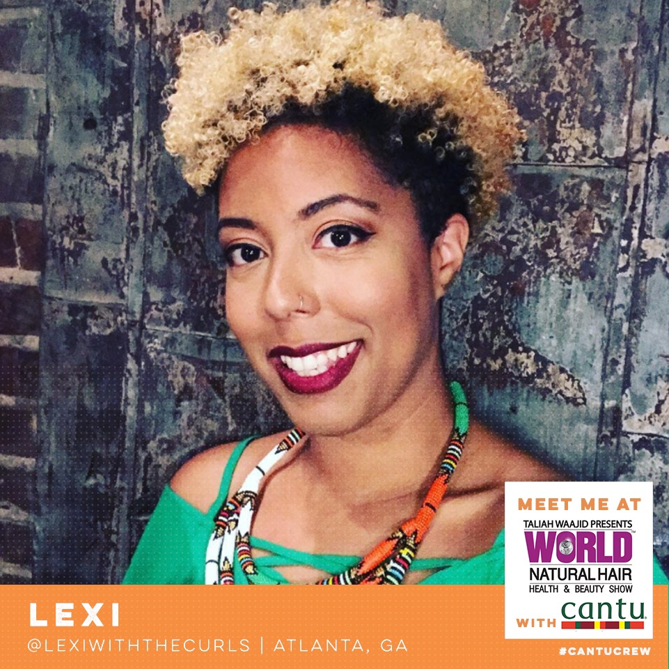 Join Me With Cantu At The World Natural Hair Show