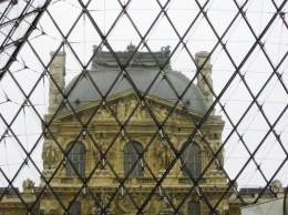 Inside out at the Louvre, Paris, France