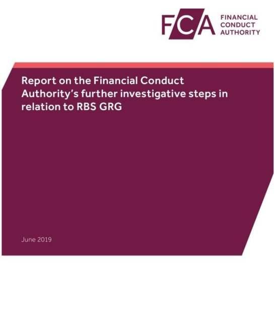FCA Report GRG Misconduct