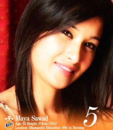 Maya Sawad Miss Nepal 2013
