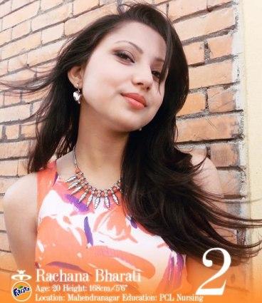 Rachana Bharati Miss Nepal 2013