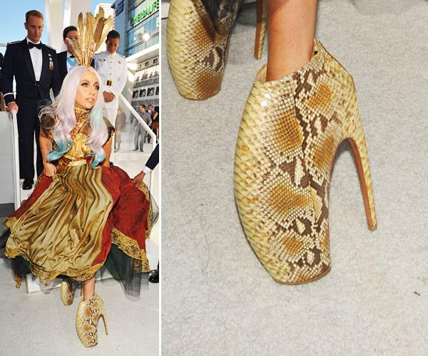 Alexander Mcqueen Gaga Shoes