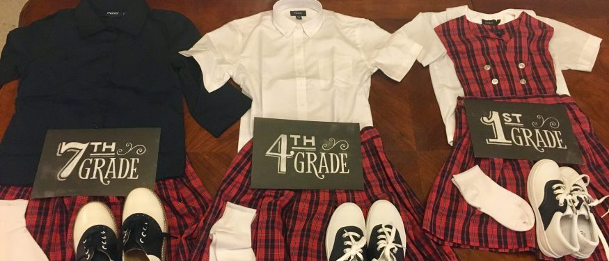 Are school uniform policies requiring girls to wear skirts unconstitutional?