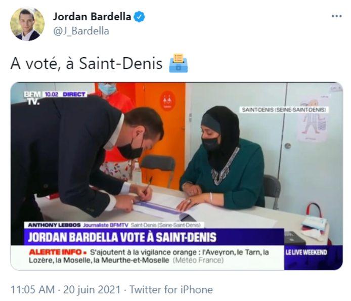 Polemikë Mbi Një Foto Të Një Vlerësuesje Të Mbuluar Në Francë, E Postuar Nga Deputeti I Ekstremit Të Djathtë Jordan Bardella