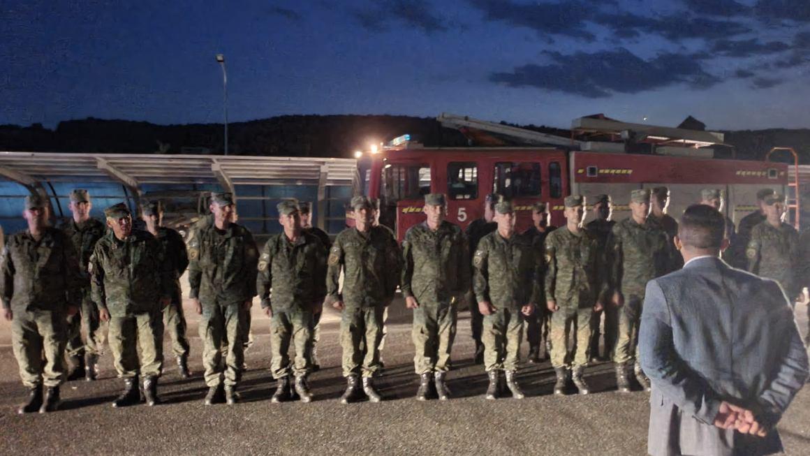 Lajm I Mirë: Ushtarët E Fsk-Së Së Kosovës Nisen Në Ndihmë Të Shqipërisë