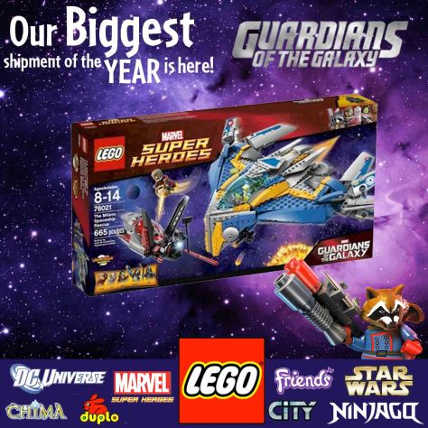 New Lego Guardians