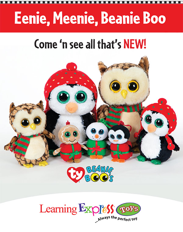 Christmas Beanie Boos 2015 – Learning Express – Brands included ...