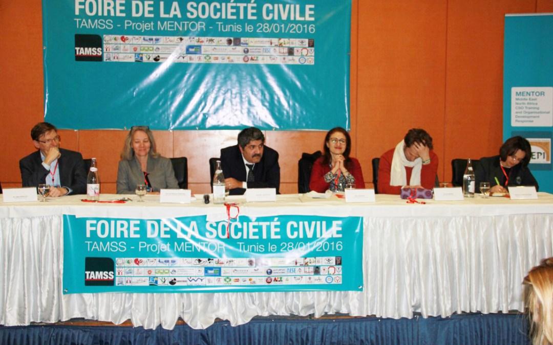 بمبادرة من الجمعيّة التّونسية للتّصرف والتّوازن الاجتماعيّ: 70 جمعيّة محليّة تعرض برامجها وأنشطتها في منتدى المجتمع المدنيّ بتونس