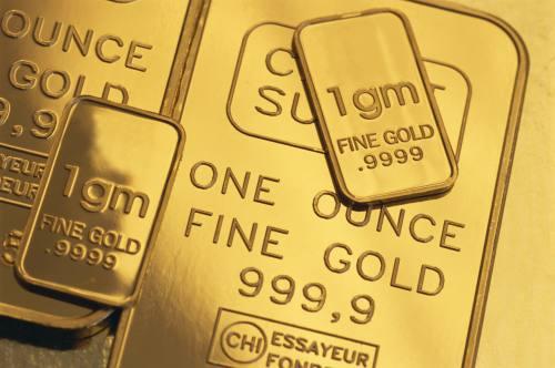 الذهب ينخفض مع إنخفاض سعر الدولار