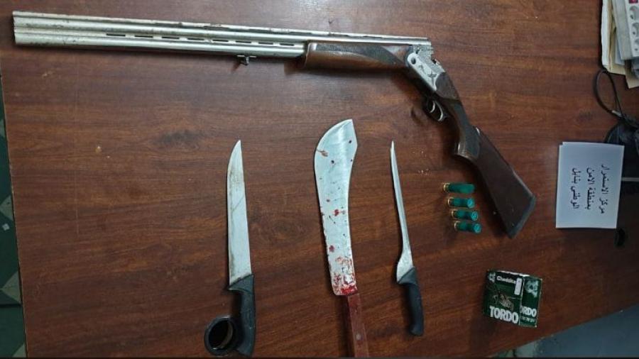 أسلحة بيضاء وسلاح ناري في معركة بدار شعبان الفهري ! (صور)