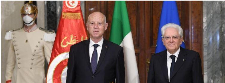 سعيد: 'نرحب باتفاقيات التعاون لكن أي ذرة من تراب تونس يجب أن تكون تحت السيادة التونسية'