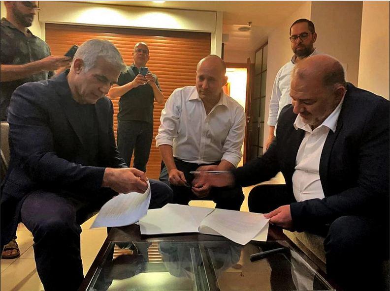 هل أصبحت حركة حماس جزء من الحكومة الإسرائيلية الجديدة؟