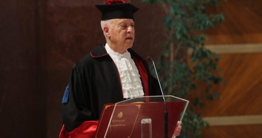 """قيس سعيد يتحصل على الدكتوراه من جامعة """"لاسابينزا"""" الإيطالية"""