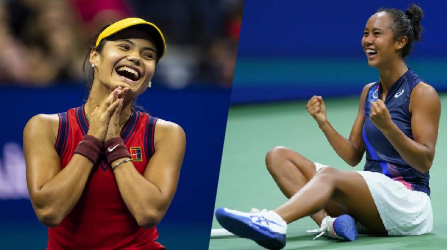 18 و19سنة: من هما لاعبتا نهائي بطولة أمريكا المفتوحة للتنس؟ (صور)