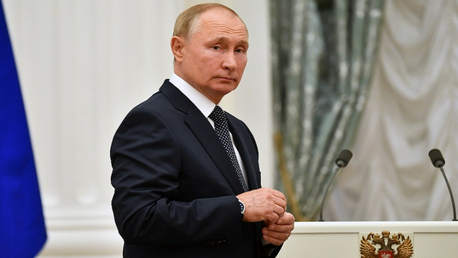 بوتين في الحجر الصحّي