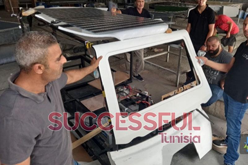 بإمكانيات ذاتية.. تصنيع أول سيارة تونسية تعمل بالطاقة الشمسية
