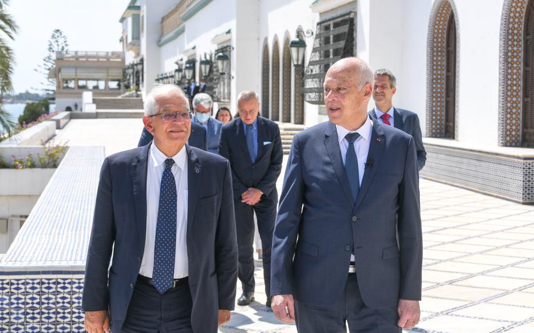 قيس سعيد.. نحو تحسين و تعزيز المسار الديمقراطي في تونس