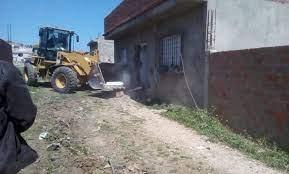 بنزرت: انطلاق إزالة المنازل وهدمها على مسار الجسر الجديد