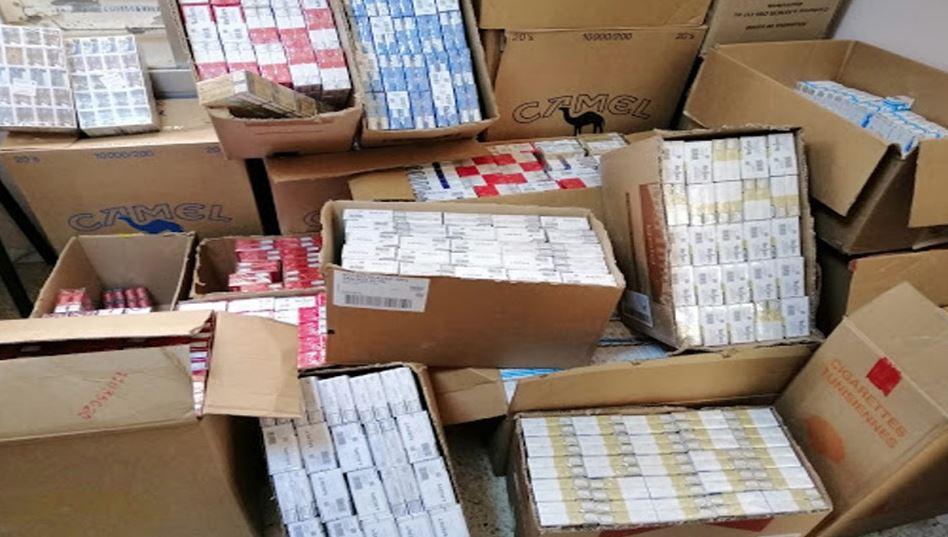 سليانة: حجز 4 ألاف علبة سجائر