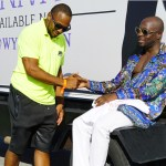 Wyclef and CEO of LPMG, Lex Pierre-Louis